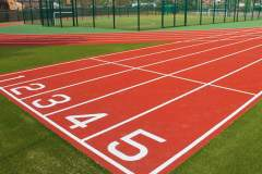 Oaklands School | Hard (macadam) Athletics Track
