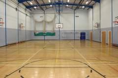St. James's C of E High School | Indoor Basketball Court