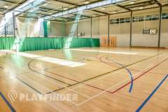 BACA Sports Centre | Sports hall Netball Court