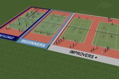 Tamworth Farm Recreation Ground | Hard (macadam) Tennis Court