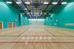 Sandringham School | Indoor Basketball Court