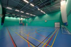 Challney High School for Girls | Indoor Netball Court