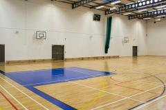 Loreto Abbey Sports Hall | Indoor Basketball Court