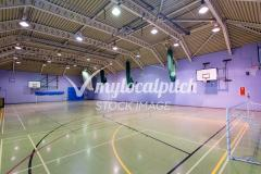 University of Salford Sports Centre | Indoor Netball Court
