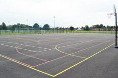 Droylsden Academy | Concrete Netball Court
