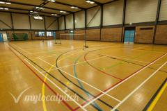 Clarendon Leisure Centre | Indoor Netball Court