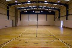 Queens Park Community School | Indoor Basketball Court