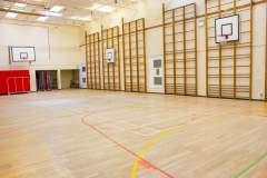Haileybury Turnford School | Hard Badminton Court