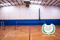 Ordsall Leisure Centre | Hard Badminton Court