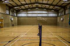 Portslade Sports Centre   Hard Badminton Court