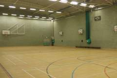 Longhill Sports Centre | Sports hall Basketball Court