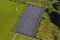 South Manchester Sports Club | Concrete Tennis Court